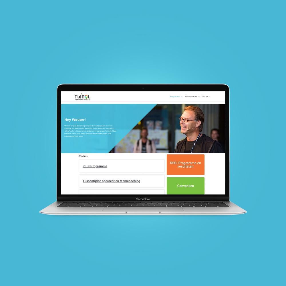website bouwer velp portfolio item resultaatgericht innoveren academy
